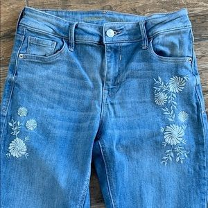 Old Navy Jeans - Old Navy Rockstar Jeans, embroidery design, 6
